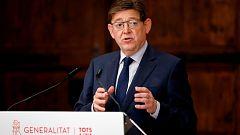 """Puig descarta levantar restricciones inmediatamente y pide """"prudencia"""""""