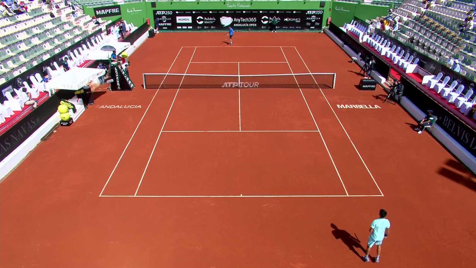 Tenis - ATP 250 Torneo Marbella: Milojevic - Alcaraz - ver ahora