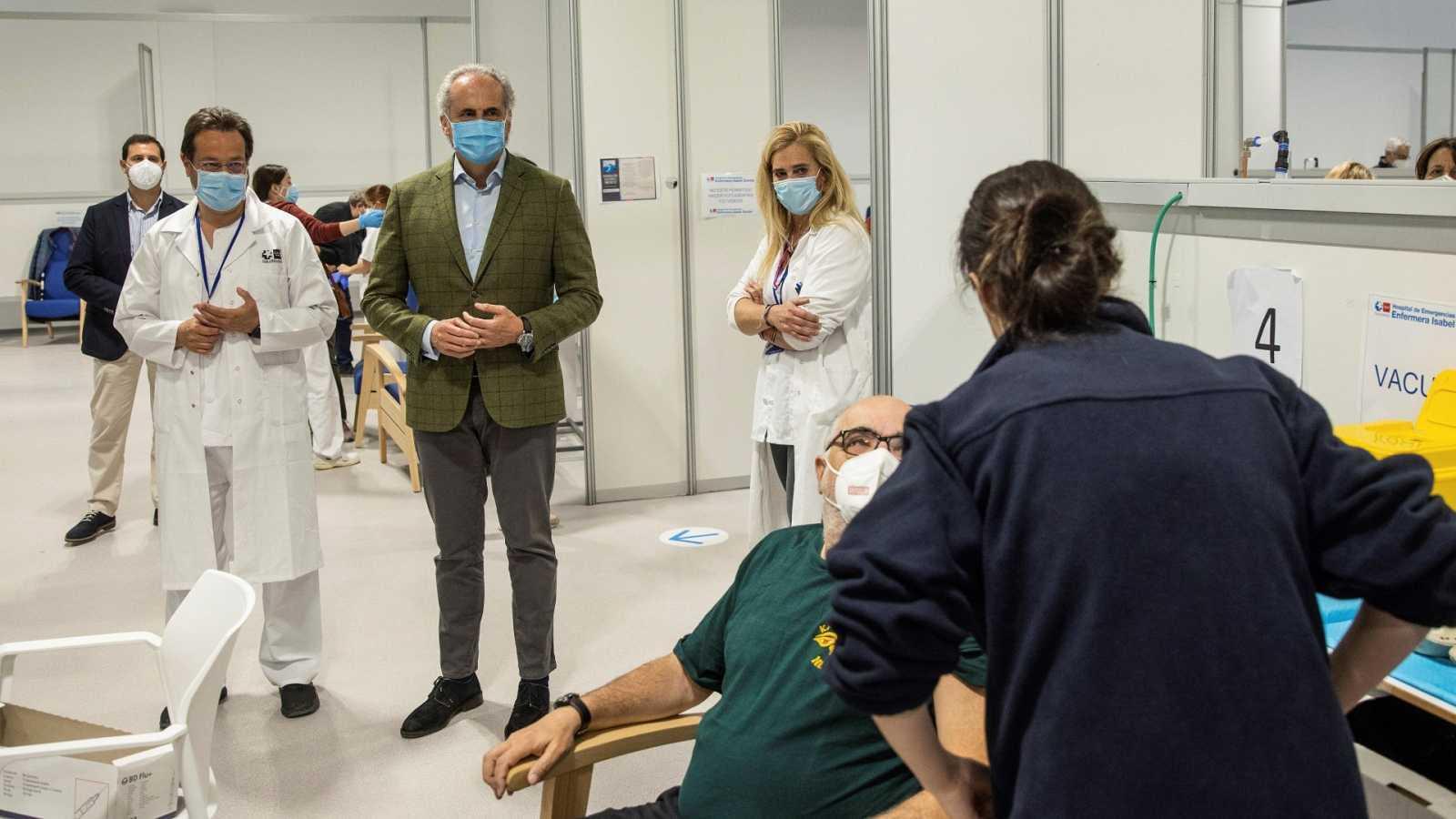 La Comunidad de Madrid tanteó la compra de la vacuna rusa Sputnik V