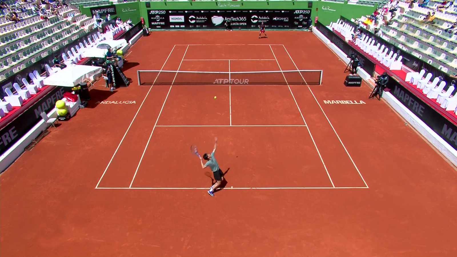 Tenis - ATP 250 Torneo Marbella: Lopez - Daniel - ver ahora