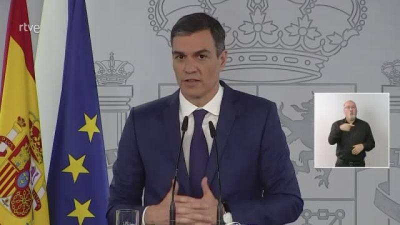 """Pedro Sánchez reprendrà el diàleg amb la Generalitat """"quan es formi govern"""""""