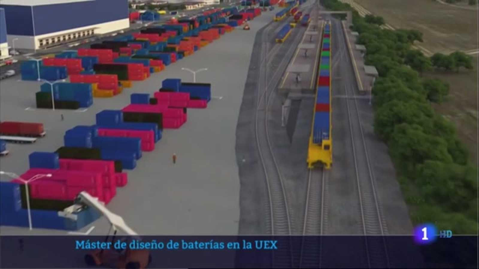 Máster de diseño de baterias en la UEX - 06/04/2021