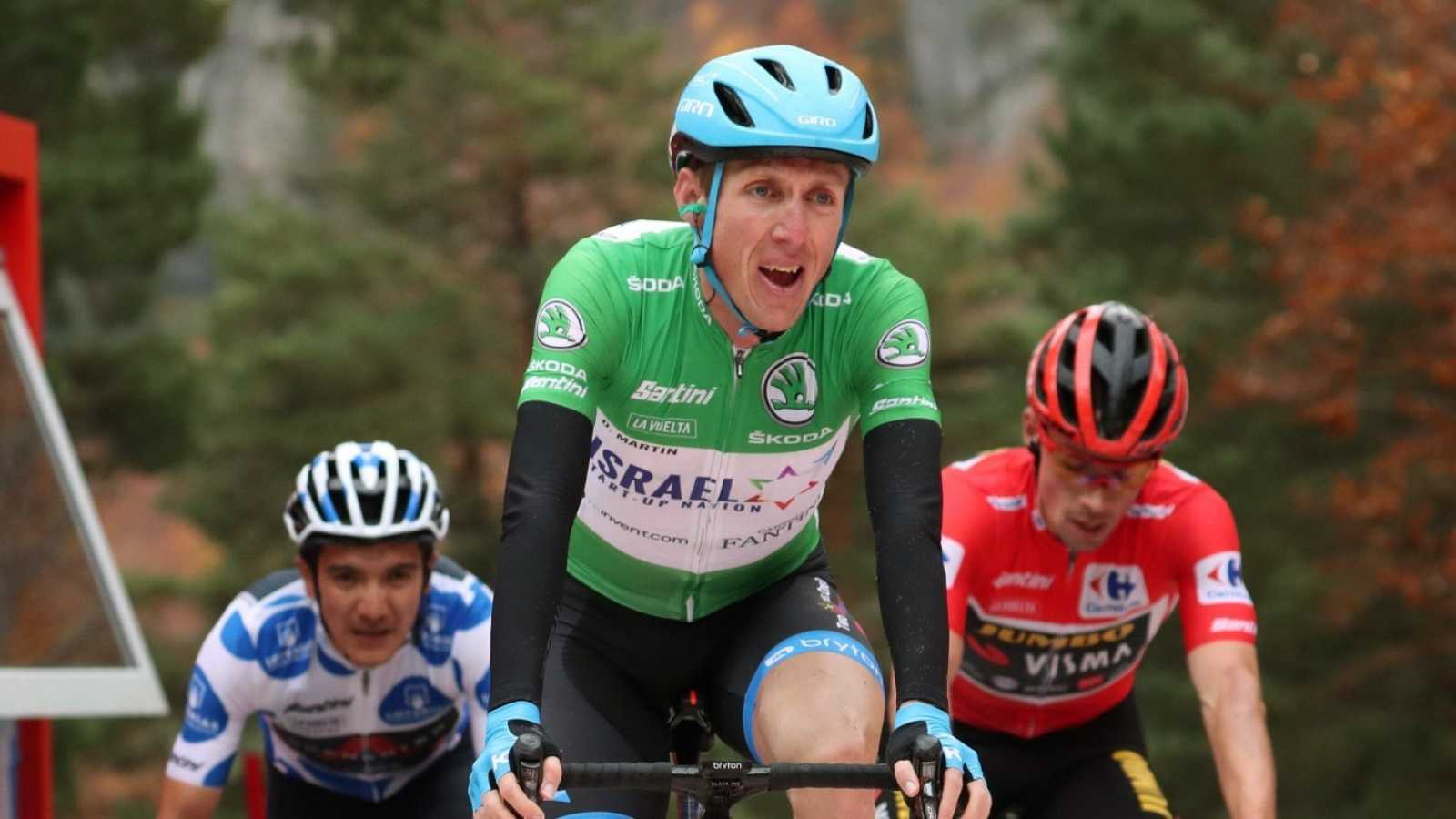 "Dan Martin, sobre el Giro: ""Mi objetivo es ganar una etapa"""