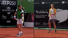 Tenis - ATP 250 Torneo Marbella: A. Davidovich - D. Dzumhur