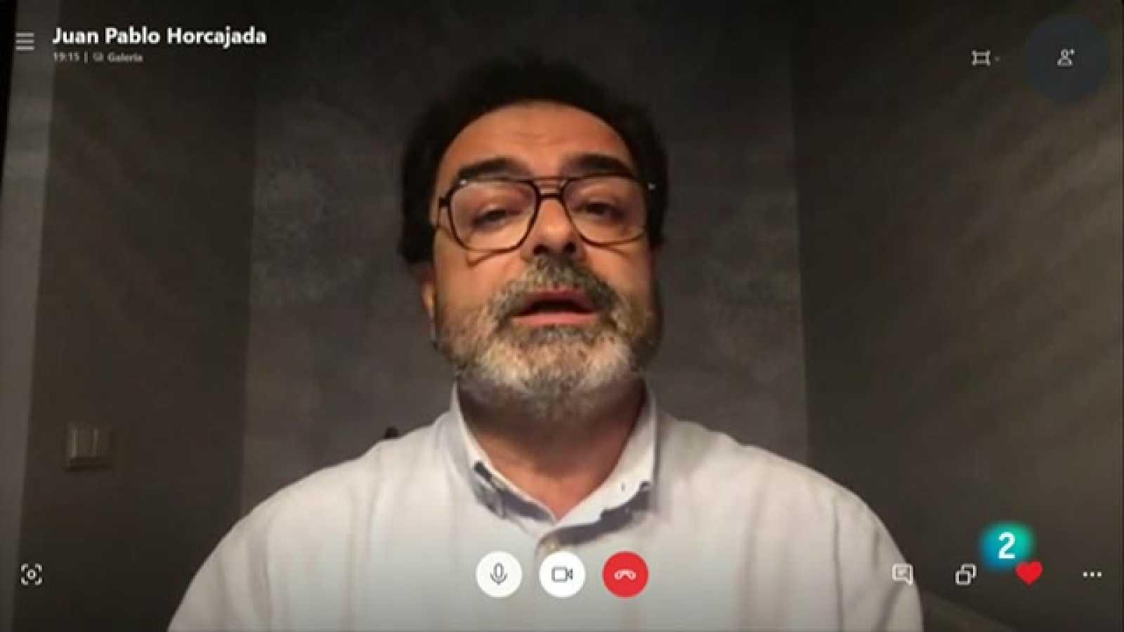 """Juan Pablo Horcajada: """"Veig precipitat acabar amb l'estat d'alarma el 9 de maig"""""""