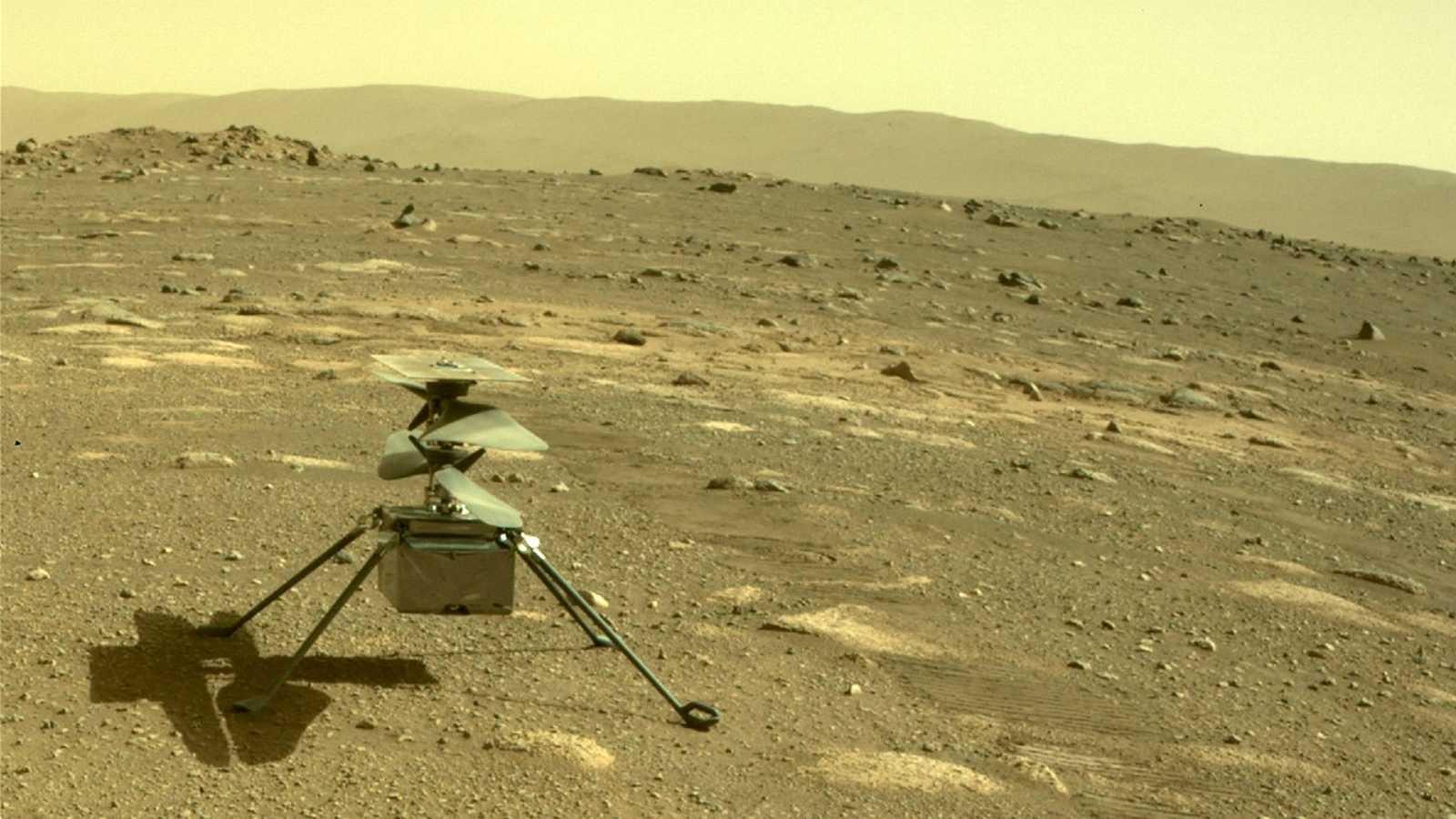El dron 'Ingenuity' realizará el primer vuelo autónomo de la historia en Marte