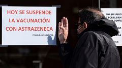 """La consejera de Sanidad de CyL insiste en """"ser prudente"""" y suspender la vacunación con AstraZeneca"""