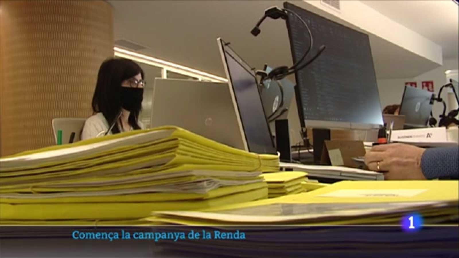 Arrenca una campanya de la renda més complicada pels ERTO i els ajuts per la pandèmia