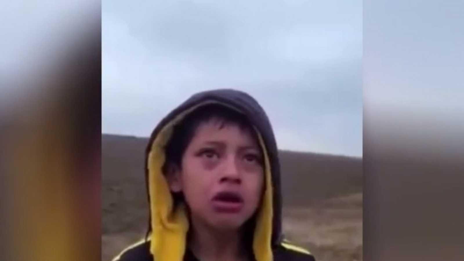 Encuentran a un niño hondureño solo en pleno desierto cerca de la frontera entre México y EE.UU.