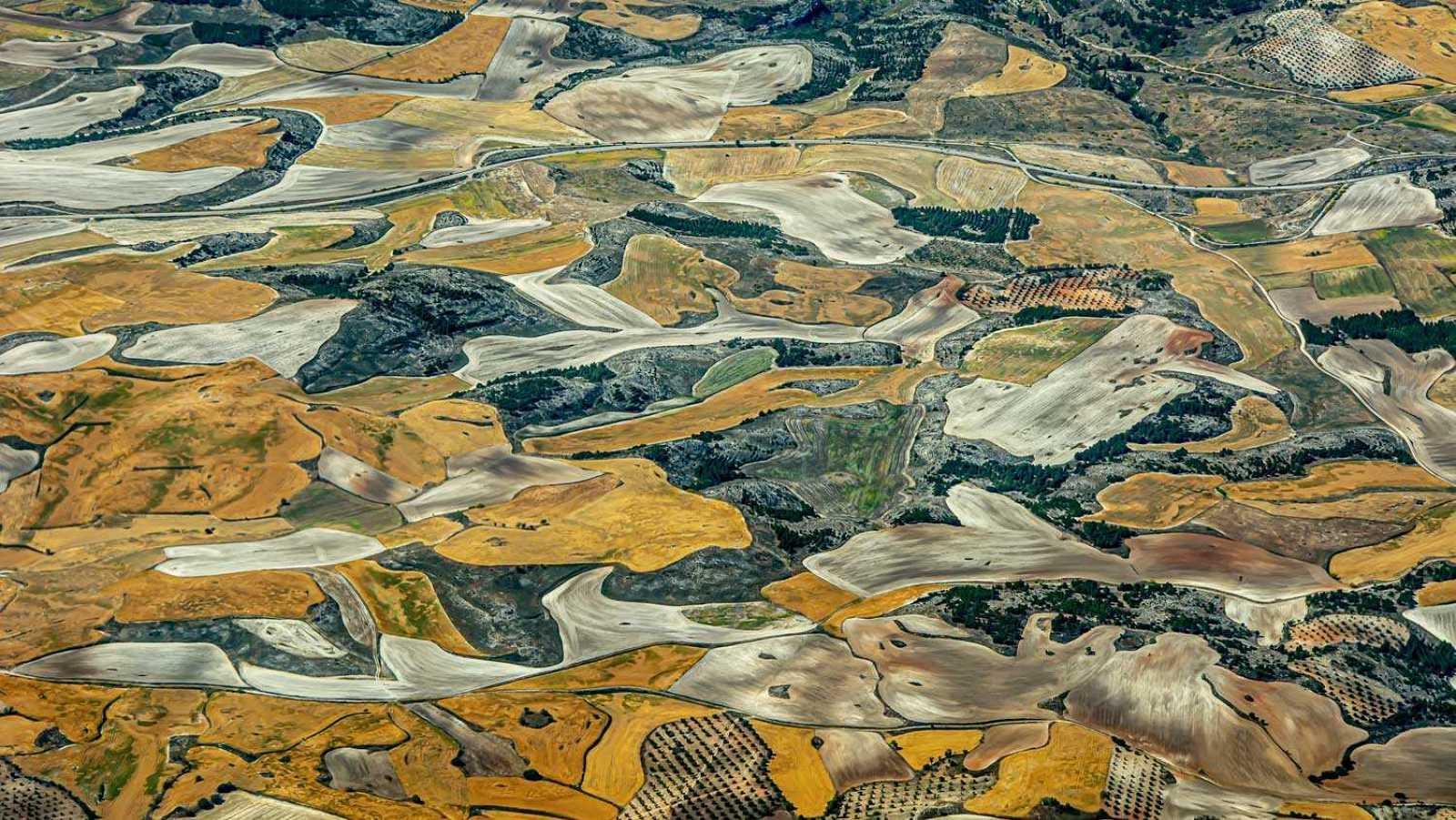 Una exposición de fotografías aéreas denuncia el impacto del hombre en la Tierra