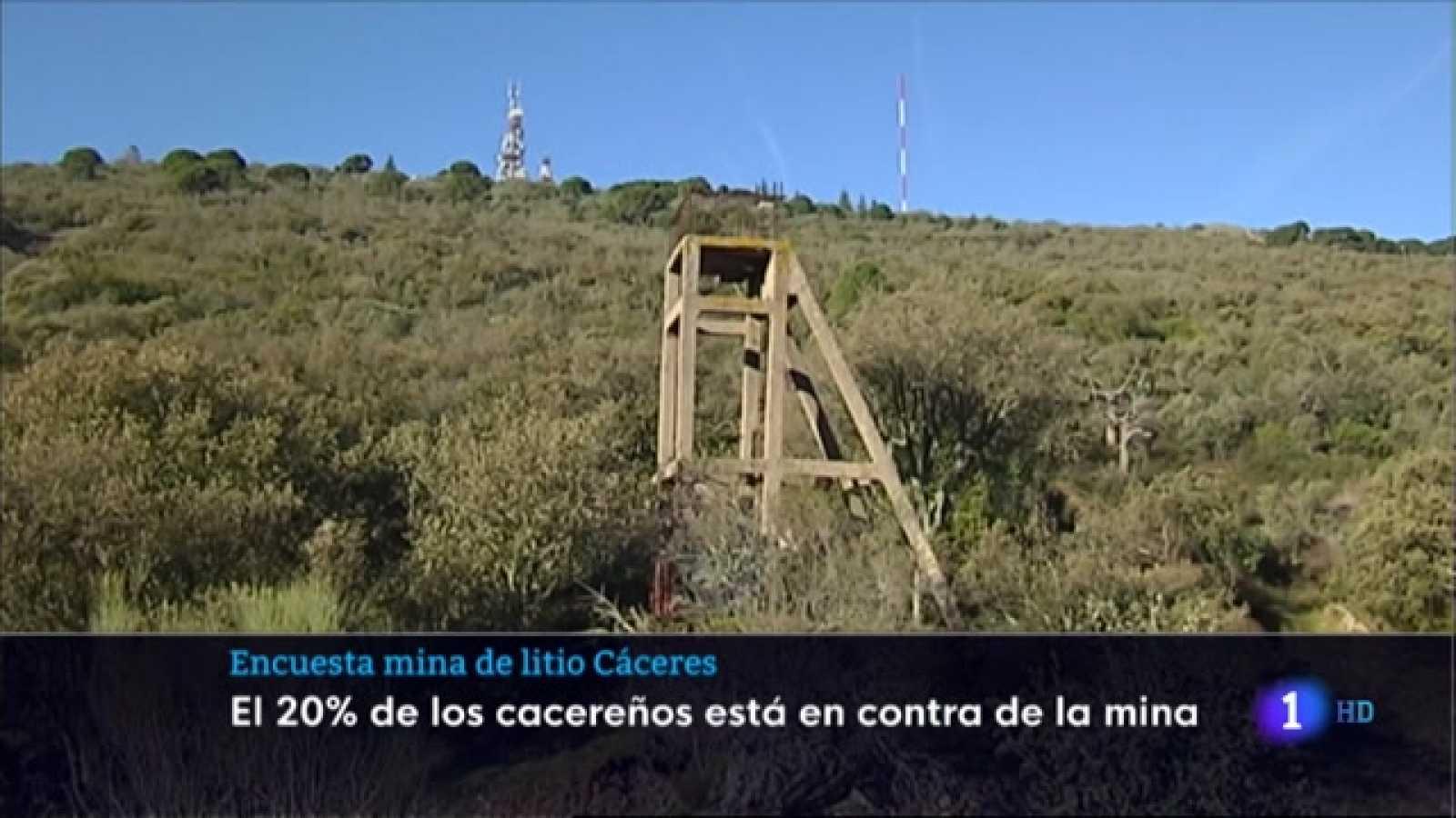 Encuesta mina de litio Cáceres - 07/04/2021