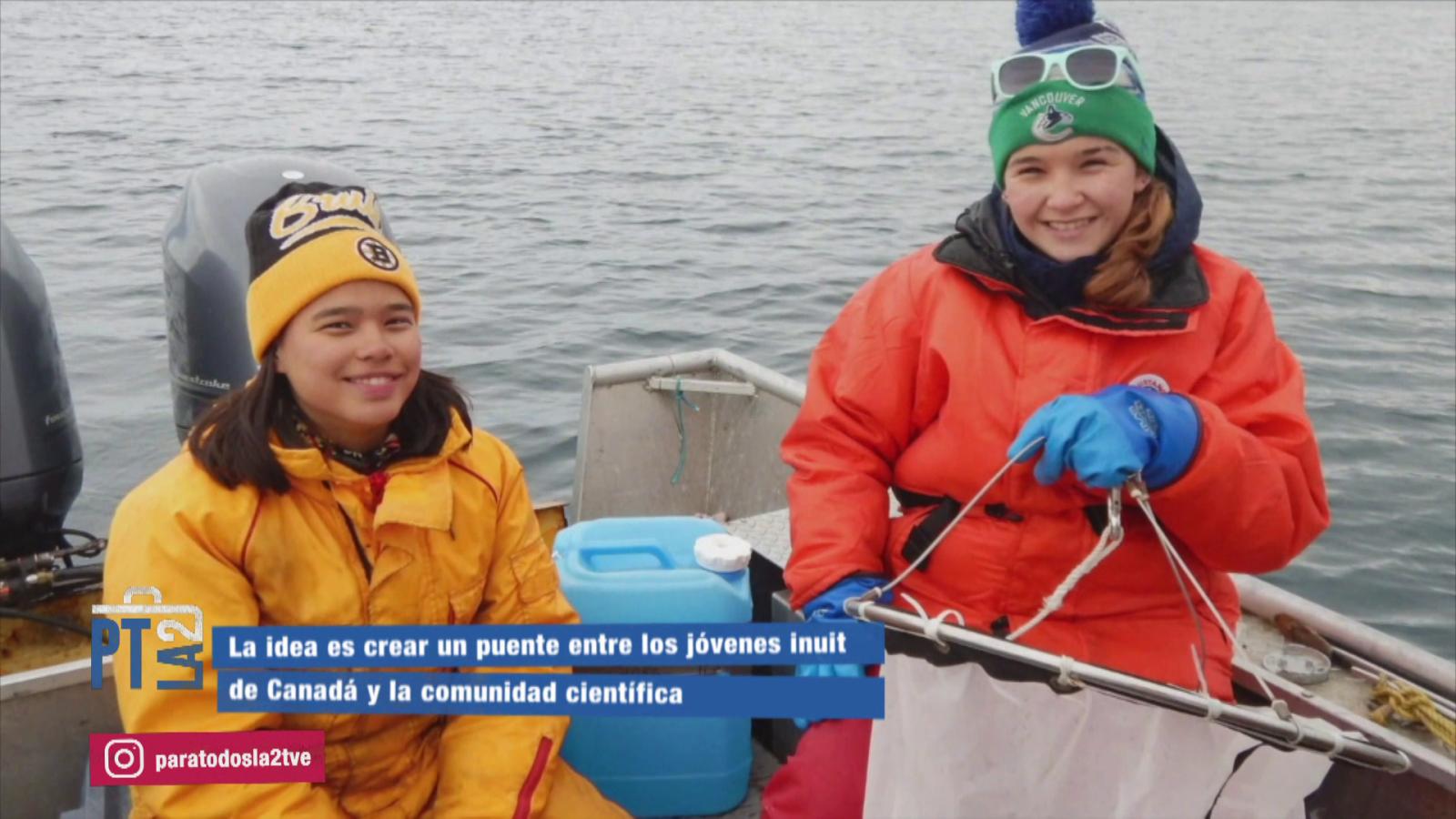Jóvenes inuits de Canadá y comunidad científica