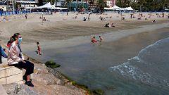 El uso de la mascarilla será obligatorio en la playa mientras no se guarde la distancia