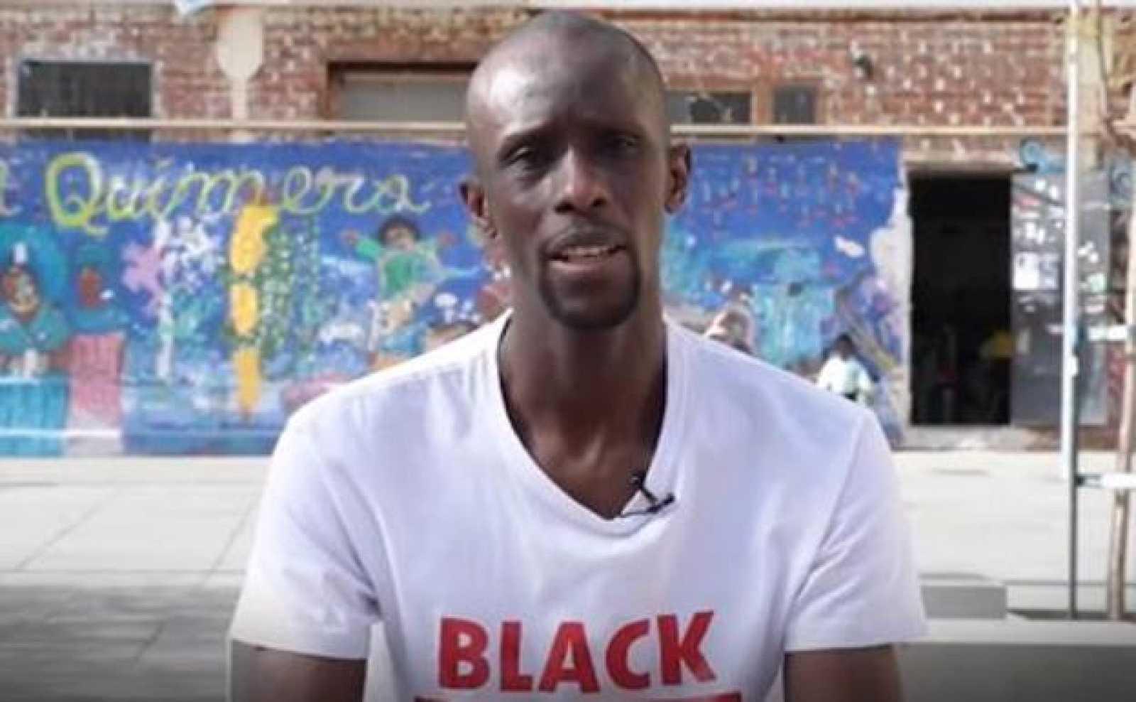"""Serigne Mbayé (UP), sobre los disturbios en Vallecas en el mitin de VOX: """"Es una provocación, era algo previsible"""""""