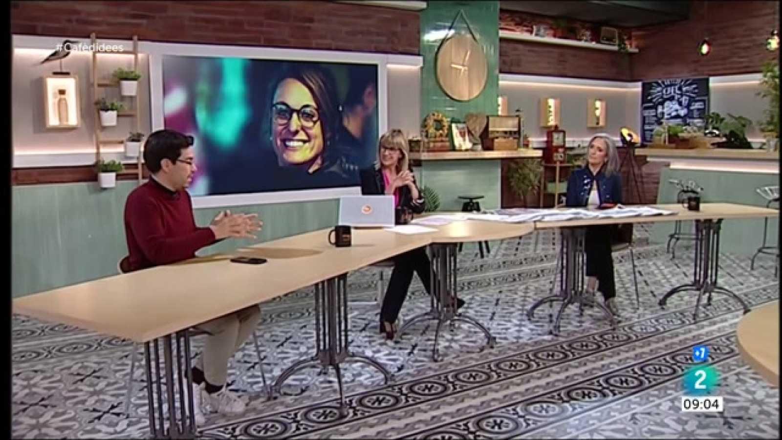 Cafè d'idees - Mireia Vehí, Ada Colau i Júlia Vergara-Alert
