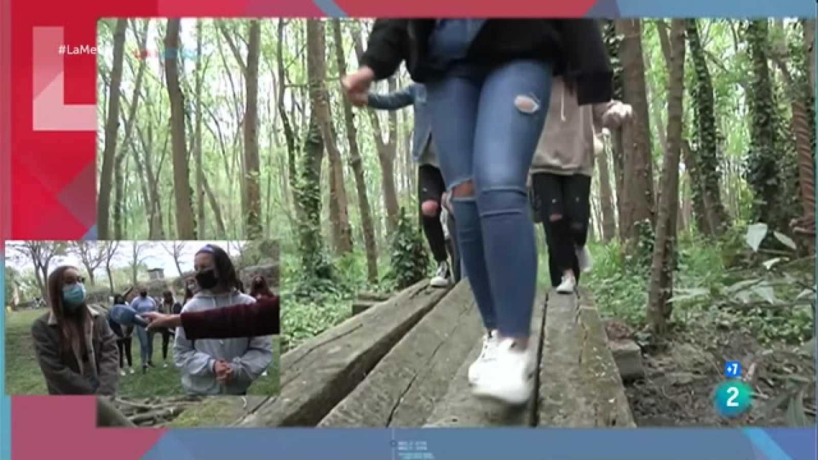 Entrevista a joves de GreenPala, guanyadores del Premi Joves pel demà, amb una proposta d'arranjament de la zona del molí de Palafolls