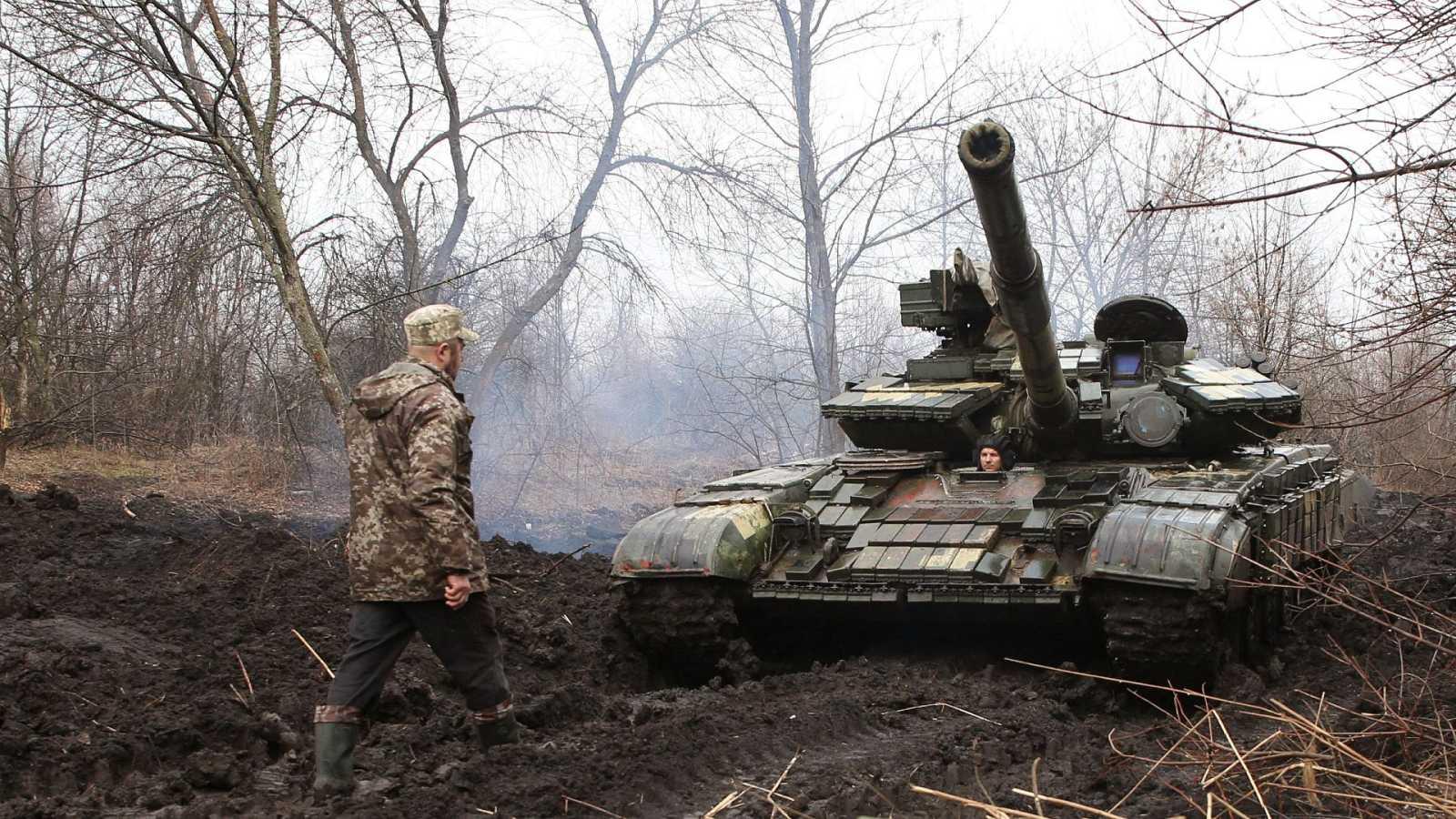 Crece la tensión entre Rusia y Ucrania tras el despliegue de tropas rusas cerca de la frontera