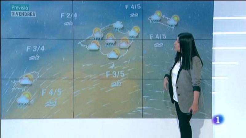 El temps a les Illes Balears - 08/04/21