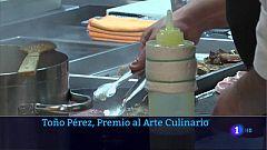 Toño Pérez, premio al arte culinario