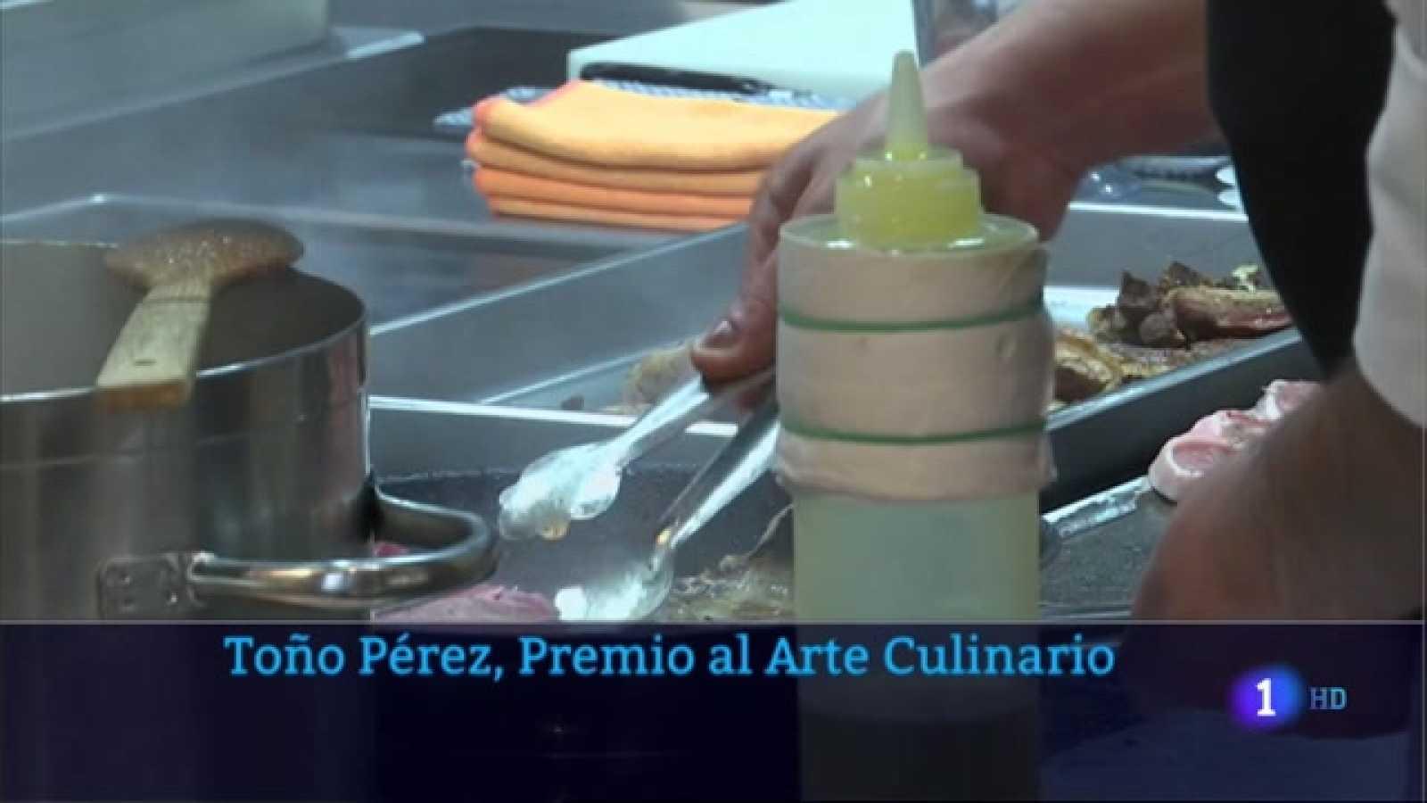 Toño Pérez, premio al arte culinario - 08/04/2021