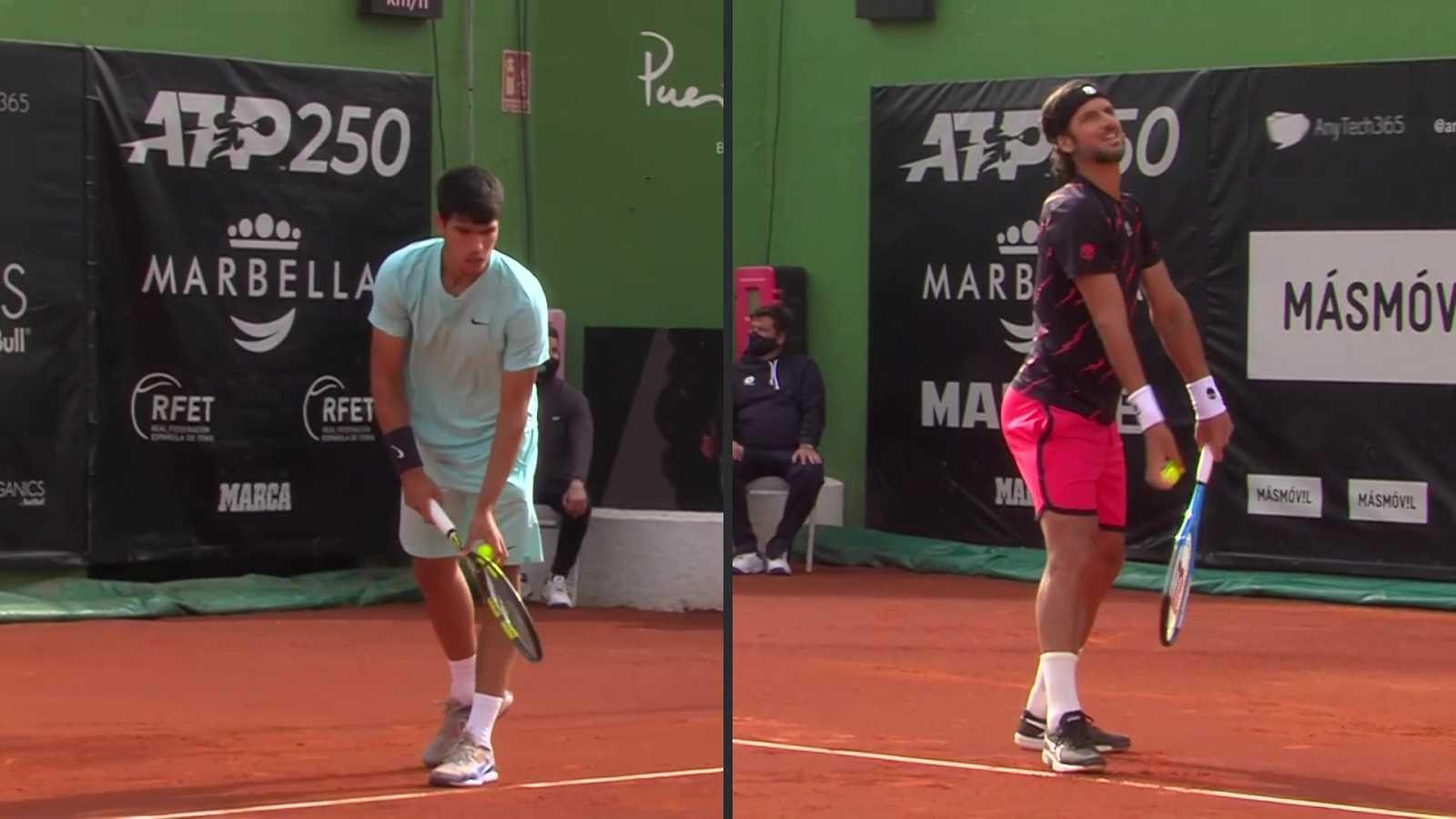 Tenis - ATP 250 Torneo Marbella: F. López - C. Alcaraz - ver ahora