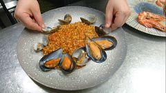 Receta italiana: frégola sarda a la marinera