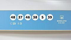 Sorteo de la Lotería Bonoloto del 08/04/2021