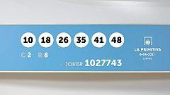 Sorteo de la Lotería Primitiva y Joker del 08/04/2021
