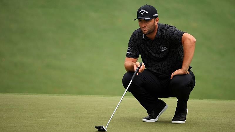 "Jon Rahm: ""Ha sido un buen día de golf"""