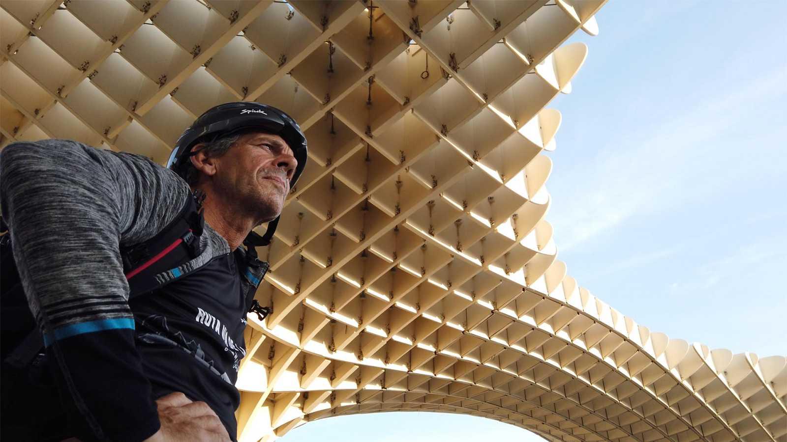 Ruta Vía de la Plata. Diario de un ciclista - Etapa 2: De Lebrija a Torre de la Reina - ver ahora