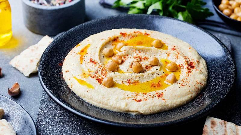 El hummus, un aperitivo muy saludable