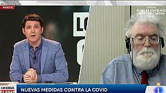 """Joan Carles Reverter, presidente de la Sociedad Española de Trombosis y Hemostasia: """"Hay mucho más riesgo en no vacunarse que en vacunarse"""""""