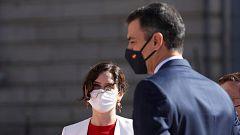 Choque entre Sánchez y Ayuso por las cifras de contagios de la Comunidad de Madrid