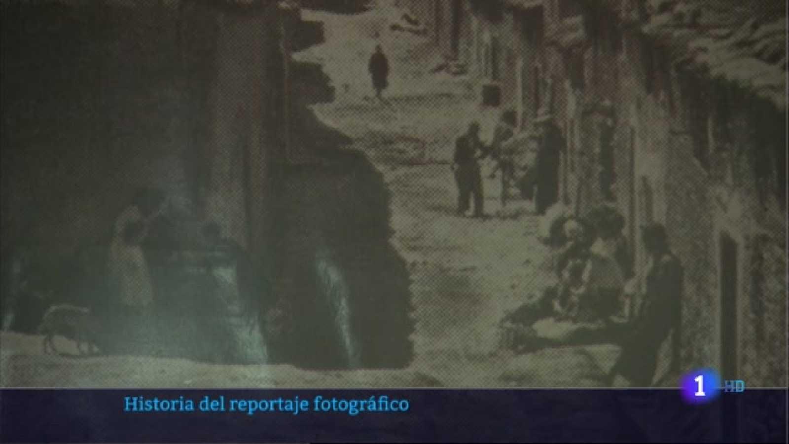 Historia del reportaje fotográfico en Deleitosa - 09/04/2021