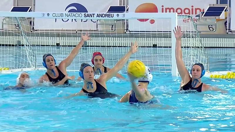 Waterpolo - Copa la Reina, 1/4 final: CN Catalunya - CN Sant Andreu - ver ahora