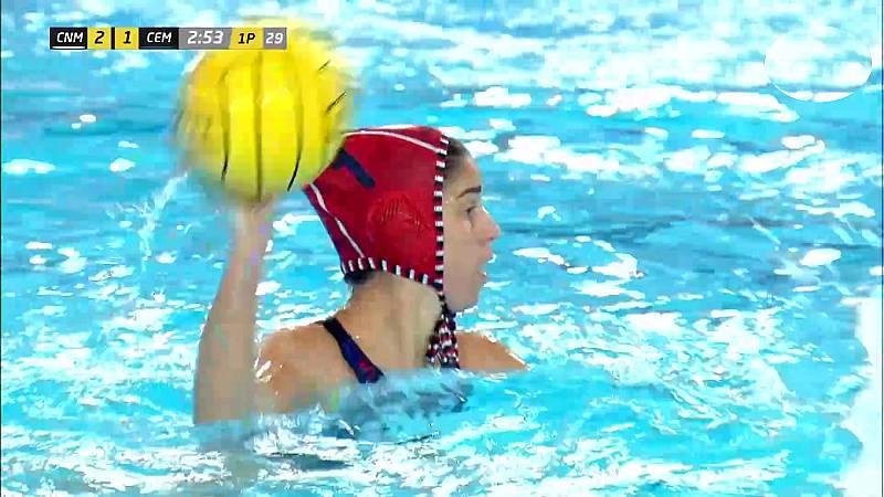 Waterpolo - Copa la Reina, 1ª semifinal: CN Mataró - CE Mediterrani - ver ahora
