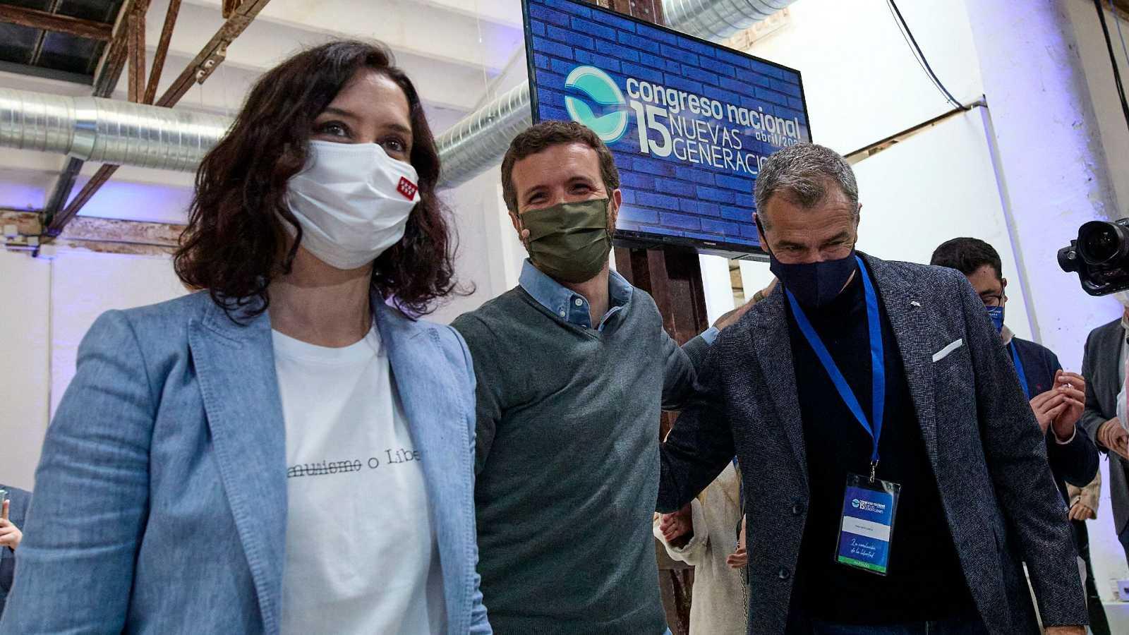 Los líderes nacionales arropan a los candidatos en Madrid