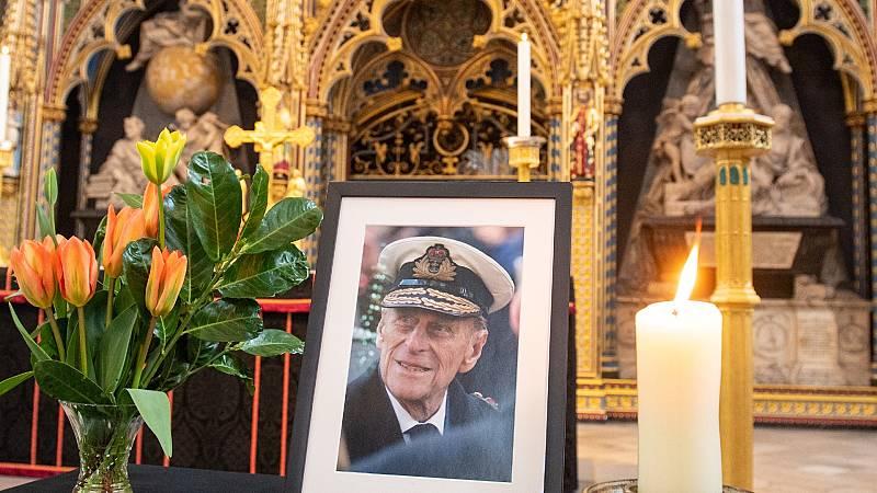 Corazón - Reino Unido despide al duque de Edimburgo