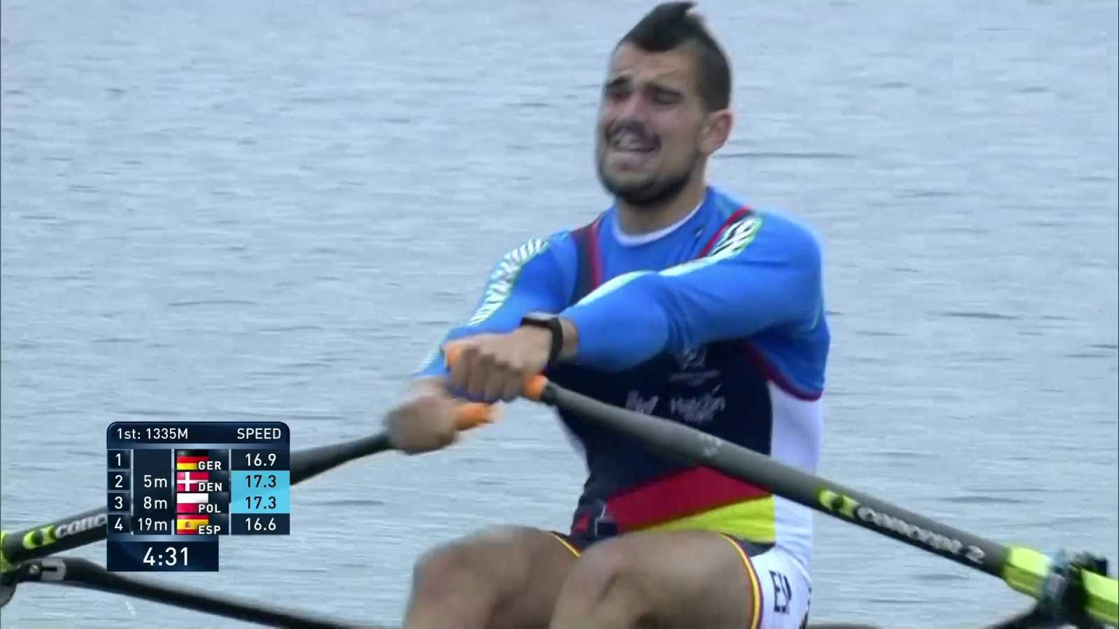Remo - Campeonato de Europa. Semifinales (2) - ver ahora