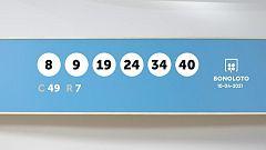 Sorteo de la Lotería Bonoloto del 10/04/2021