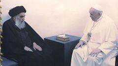 Medina en TVE - Viaje del Papa Francisco a Irak