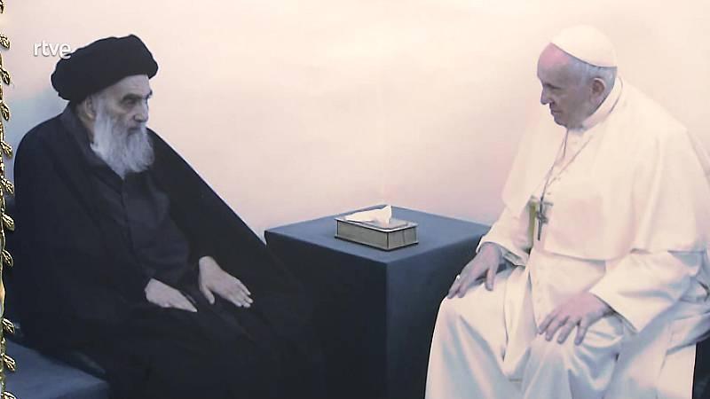 Medina en TVE - Viaje del Papa Francisco a Irak - ver ahora