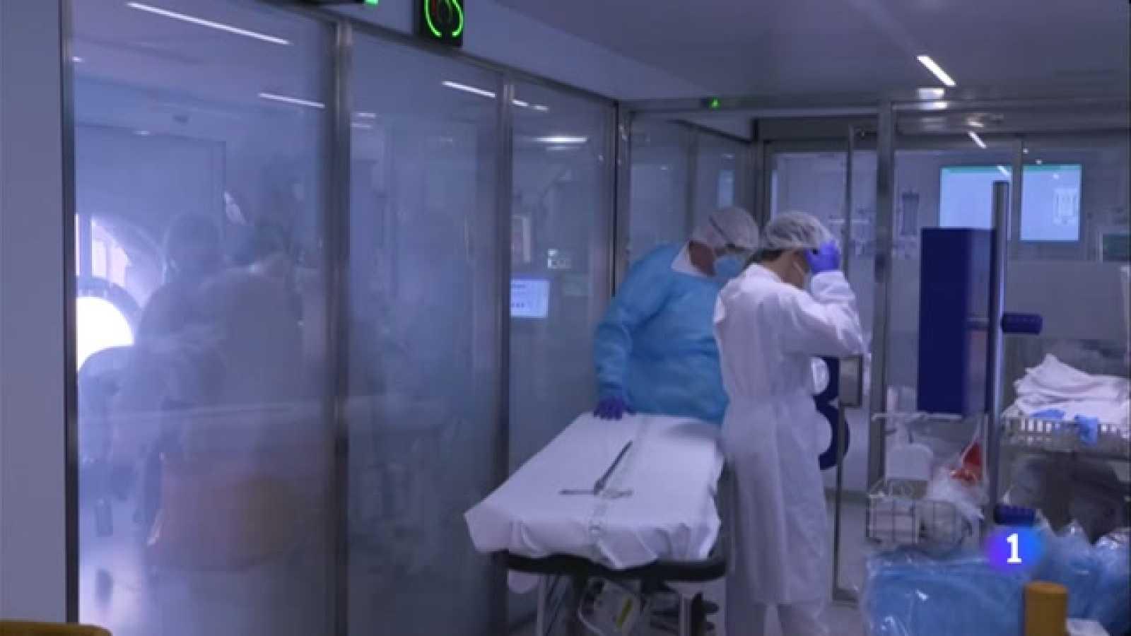 Més de 500 pacients crítics a les UCI dels hospitals catalans