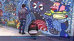 """""""Traspassant murs"""" vol apropar l'art als centres de justícia juvenil"""