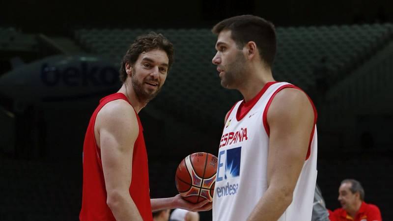 'El Clásico' de baloncesto vuelve a enfrentar a dos leyendas: Pau Gasol y Felipe Reyes