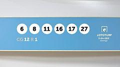 Sorteo de la Lotería Lototurf del 11/04/2021