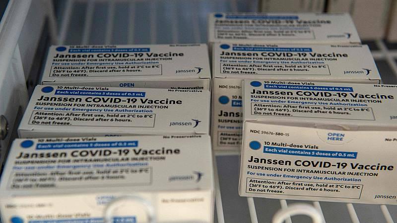 España recibe este martes el primer lote de la vacuna de Janssen
