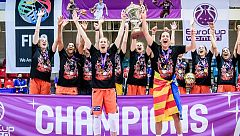 El Valencia doblega al Venezia y se proclama campeón de la Eurocup femenina
