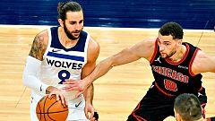 Ricky Rubio encuentra su mejor versión en la victoria de los 'Wolves' frente a Chicago Bulls