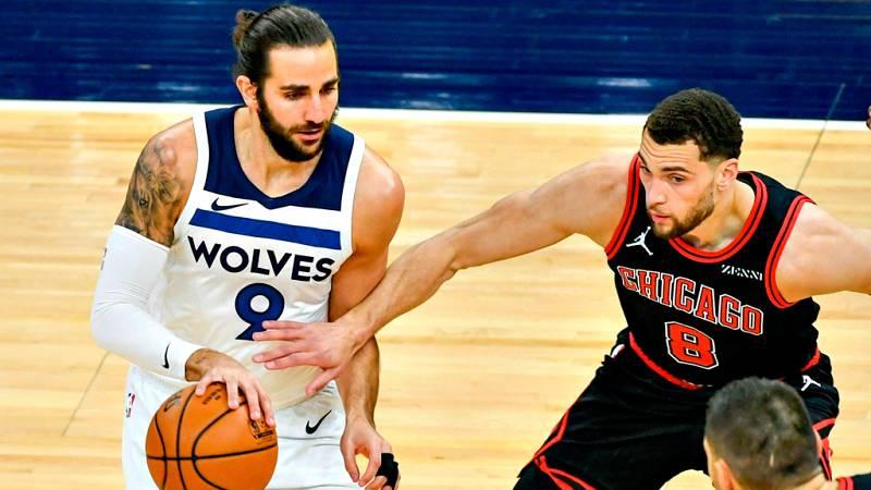 Ricky Rubio encuentra su mejor versión en la victoria de os 'Wolves' frente a Chicago Bulls